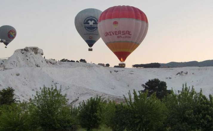 Hot Air Balloon Pamukkale