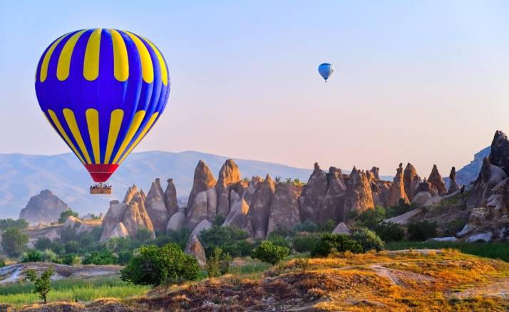 4 Day Bus Tour from Istanbul to Cappadocia & Pamukkale