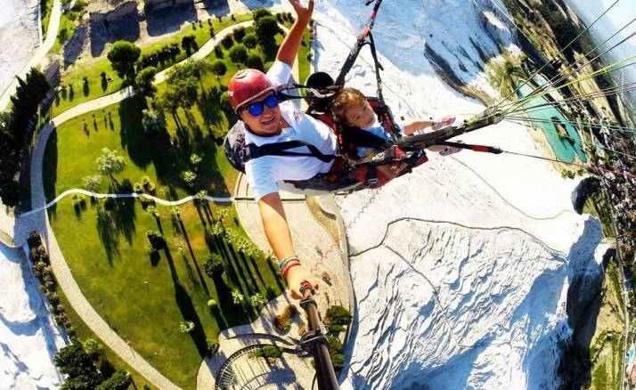 Paragliding Pamukkale