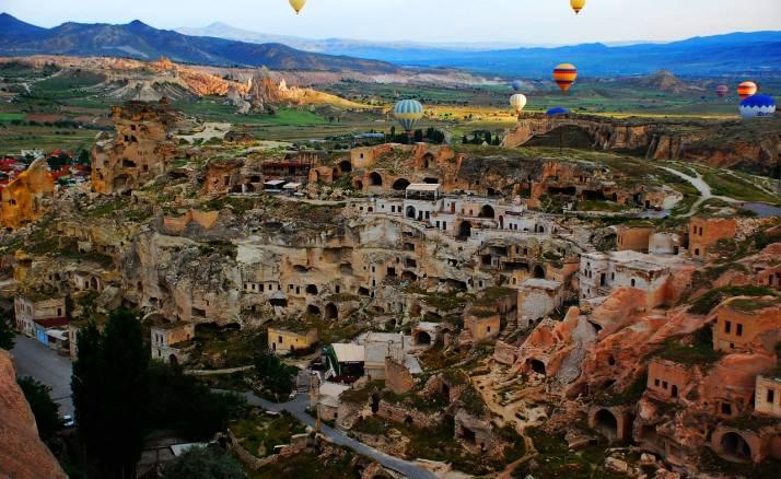 4 Day Tour From Istanbul to Ephesus –Pamukkale-Cappadocia