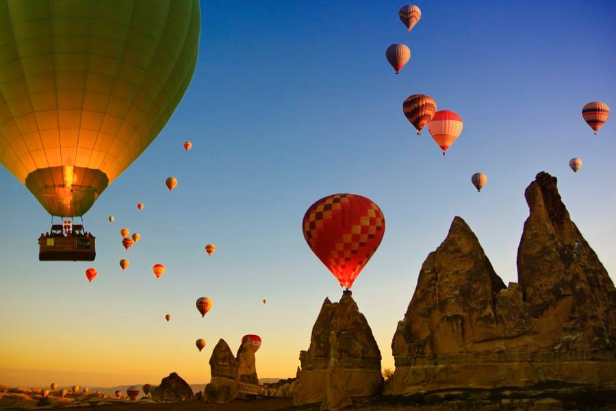 Cappadocia Hot Air Balloon Ride Tours4Turkey