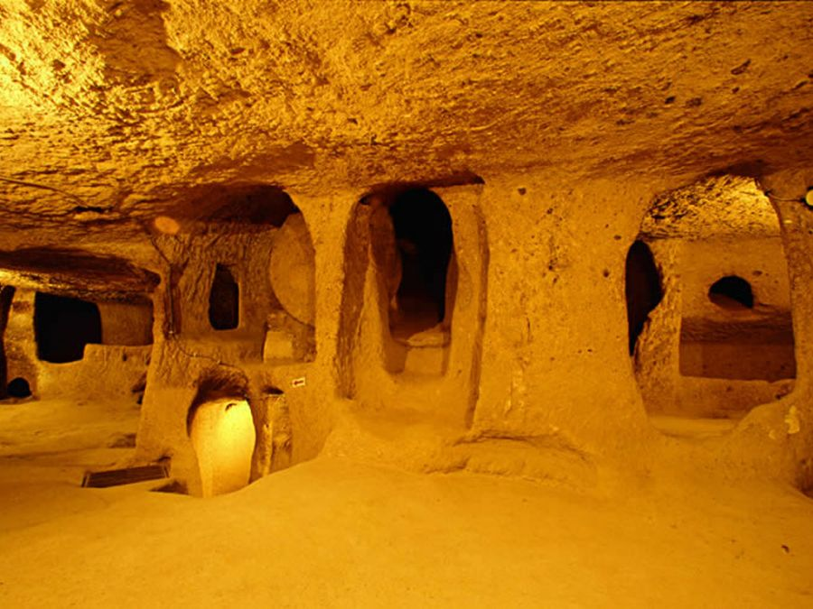 Derinkuyu Underground City Tour Of Cappadocia