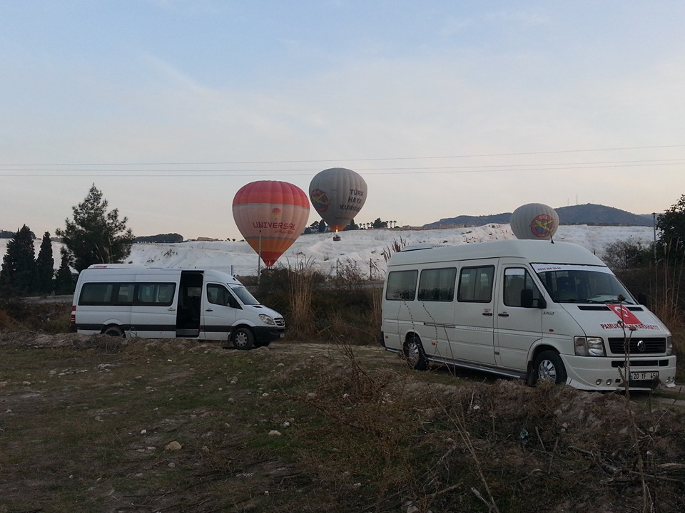Hot Air Balloon Tour In Pamukkale