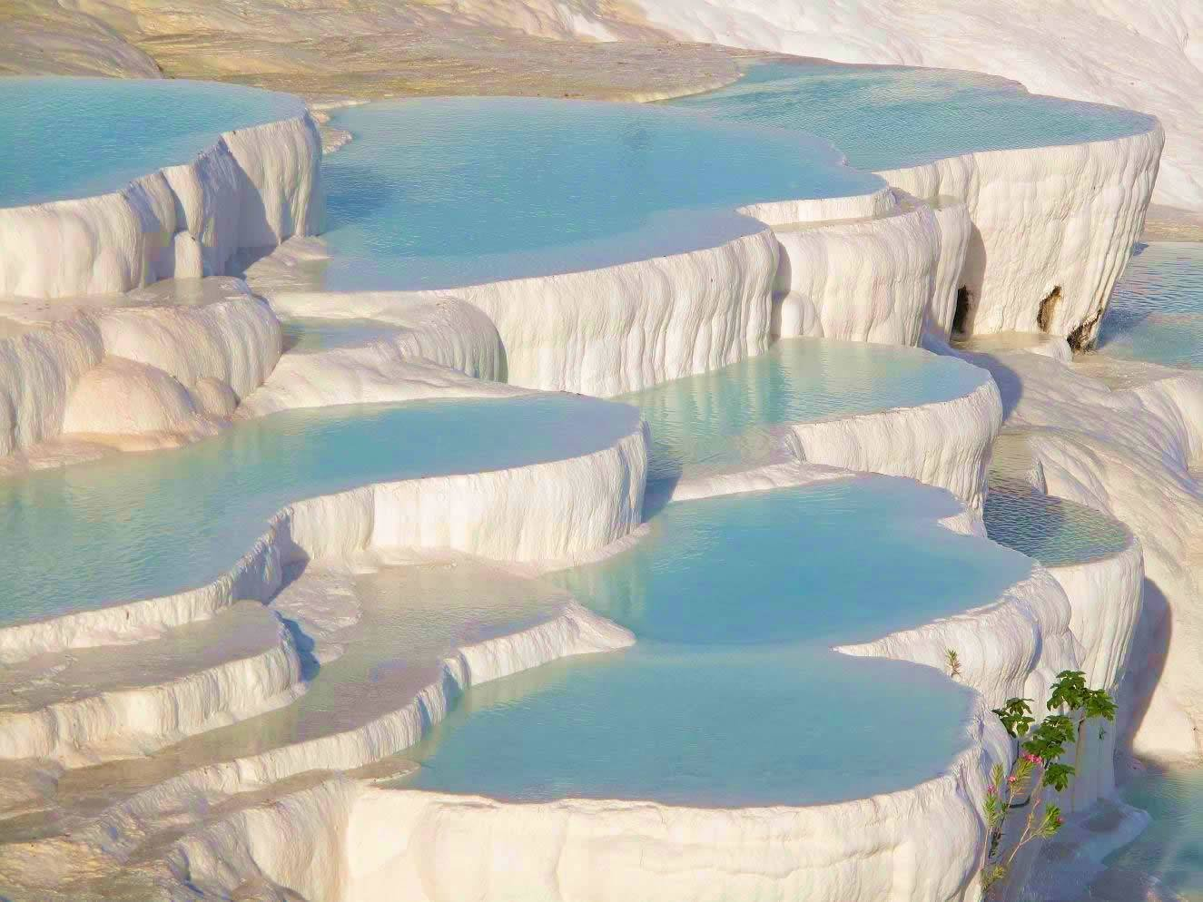 White Pools In Pamukkale