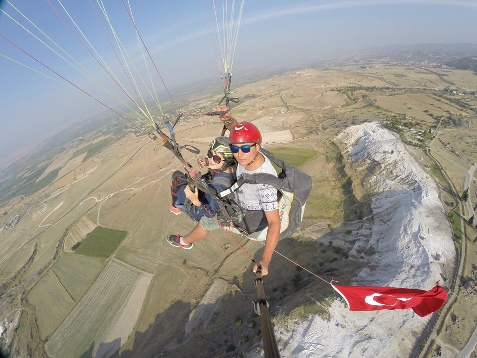 Paragliding Tour In Pamukkale