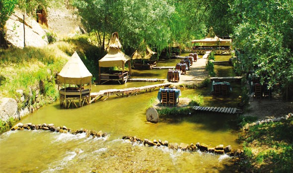 River Restaurant In Cappadocia Green Tour