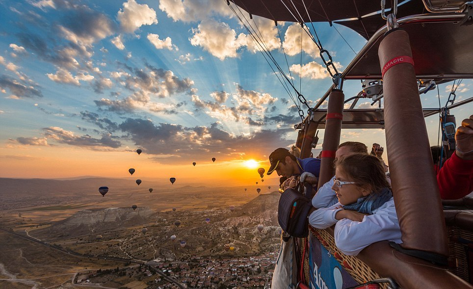 View Form Cappadocia Balloons While You Are On Sky